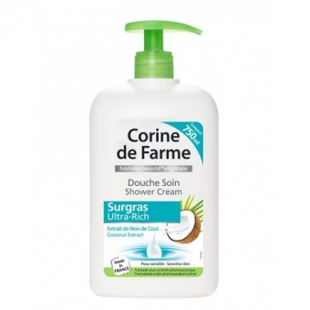 CORINE DE FARME SHOWER CREAM ULTRA RICH COCONUT 750ML
