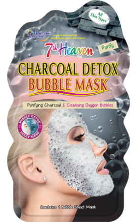 7th HEAVEN CHARCOAL DETOX BUBBLE MASK