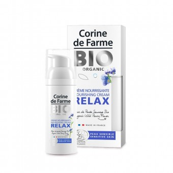 CORINE DE FARME BIO NOURISHING CREAM RELAX 50 ML