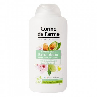CORINE DE FARME EXTRA GENTLE SHAMPOO SWEET ALMONT OIL 500 ML