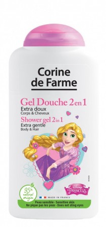 CORINE DE FARME SHOWER GEL HAIR & BODY PRINCESS 250 ML