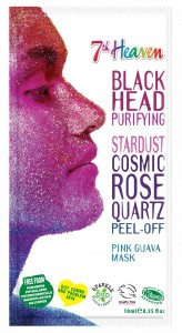 7th HEAVEN STARDUST BLACK HEAD PURIFYING COSMIC ROSE QUARTZ PEEL-OFF