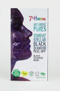 7TH HEAVEN STARDUST STELLAR BLACK DIAMOND PEEL-OFF