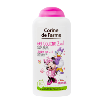 CORINE DE FARME SHOWER GEL BODY & HAIR MINNIE MOUSE 2 IN 1 250 ML