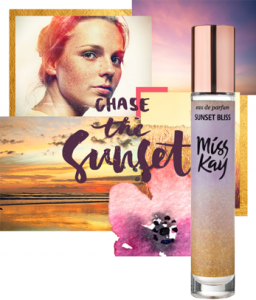MISS KAY SUNSET BLISS parfumska voda, 25 ml