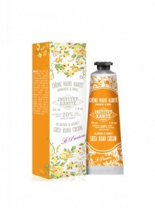 INSTITUT KARITE SHEA HAND CREAM  ALMOND AND HONEY 30 ML