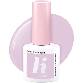 HH UV GEL #208 BRIGHT PINK 5 ml