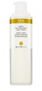 REN NEROLI AND GRAPEFRUIT BODY CREAM 200ML