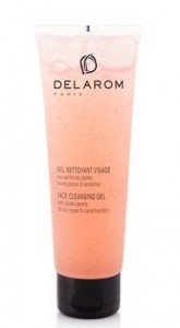 DELAROM  FACE CLEANSING GEL 125ML
