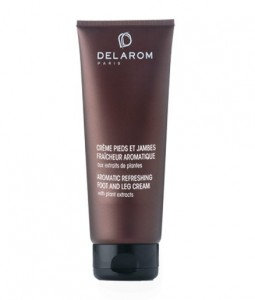 DELAROM AROMATIC REFRESHING FOOT AND LEG CREAM 125ML